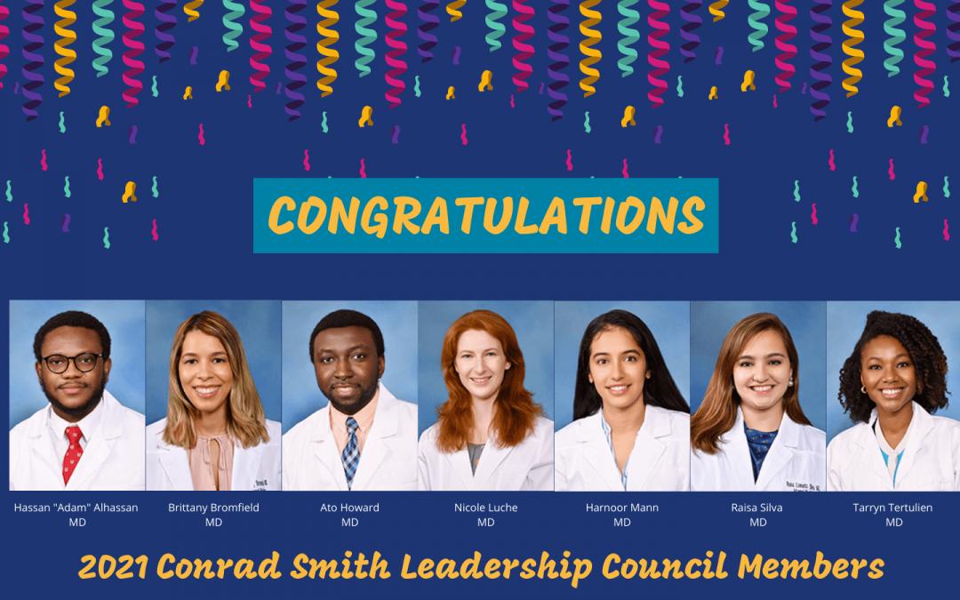 2021 Conrad Smith Leadership Council Members